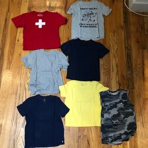 GAP Tee Short Boys 9 pc Lot - Sz S-m 6-8